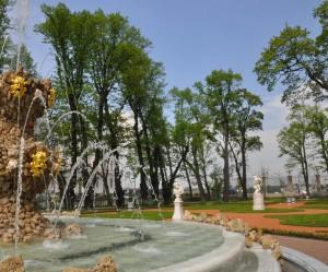 Открытие фонтанов Летнего сада фото Е. Флеровой