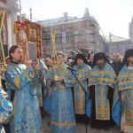 крестный ход - 300 лет Свято Троицкой Александро - Невской Лавре