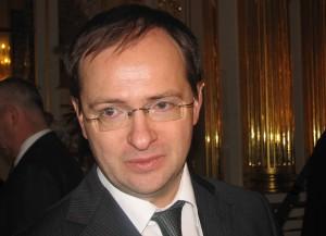 Владимир Мединский Министр культуры России фото Людмилы Калясиной сентябрь 2013 Агатовые комнаты