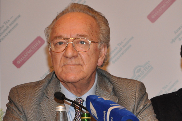 Почетный гражданин СПб Юрий Темирканов фото Людмилы Калясиной
