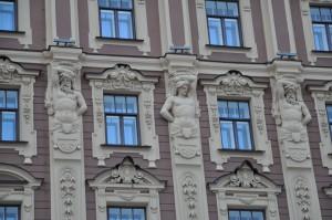Атланты ГРАНД ОТЕЛЬ ЕВРОПА СПБ 2012 декабрь