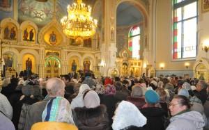 Гатчина Покровский собор Визит Патриарха фото Людмилы Калясиной апрель 2014 319