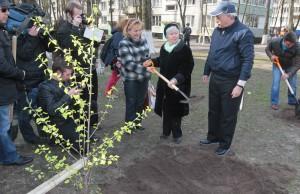 Георгий Полтавченко день благоустройства города апрель 2014