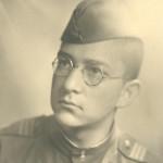 Илья Вассер сержант Германия провинция Мекланбург город Росток 06.1945