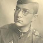 Переводчик Илья Вассер Германия провинция Мекланбург город Росток 06.1945