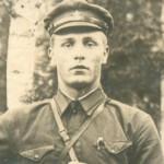 Михаил Иванович Калясин старший лейтенант 1942 год