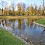 Михайловский сад 14 октябрь 2013