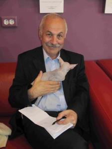 Олег Сердобольский. Поэтический вечер в Музее кошек