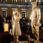 Открытие памятника суворовцам _