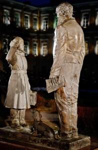Открытие памятника суворовцем _ _