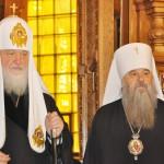Патриарх и митрополит СП и Ладожский Вырица 3 апреля 2013  005