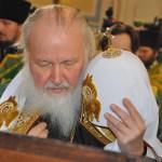 Покровский собор Гатчина Визит Патриарха 3 апреля 2013 ФотоЛюдмилы Калясиной   277