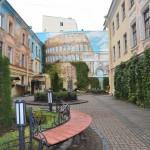 СПб дворик на Итальянской улице октябрь 2013 фото Людмилы Калясиной