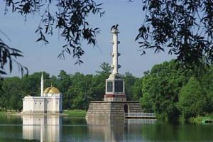 Чесменская колонна Екатерининский парк Царское Село фото В. Мухера