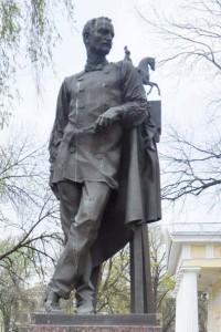 скульптор П. К. Клодт