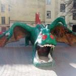 Дракон на Васильевском острове Фото Евгении Калясиной март 2014
