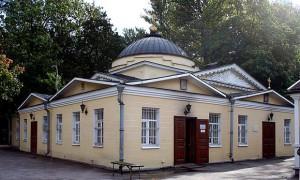 ХРАМ святителя Николая чудотворцы на Охтинском кладбище
