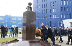 В.Климов открытие памятника