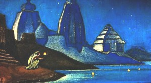 Н.К.Рерих Огни на Ганге 1947 Музей Востока
