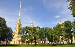 Петропавловская крепость июль 2014 приездпатриарха   021_