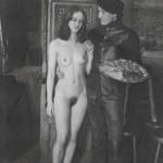 Фотограф Лев Тевелев. Михаил Шемякин с моделью Ириной Янушевской, 1960-е годы