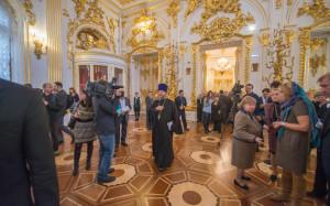 Церковь в Зимнем дворце открытие