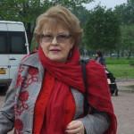 ПОЧЕТНЫЕ петербуржцы Пулковский парк 055 Вербицкая