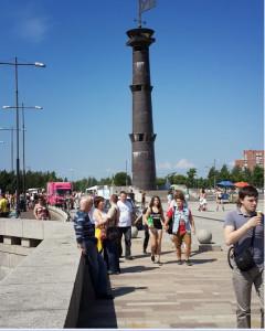 Маяк Парк 300-летия СПб