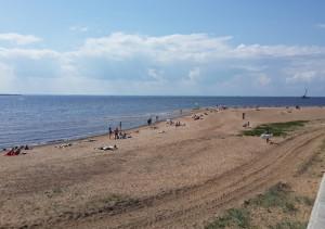 Пляж Парк 300-летия СПб _