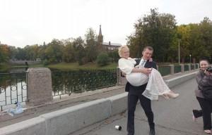 Свадьба в Александровскои парке 2