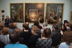 Открытие выставки к 100-летию Я.Козакова Фото Валерия Мухера