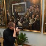 Открытие выставки к 100-летию Я.Козакова Фото 7  Валерия Мухера