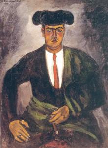 Кончаловский П.П.Матадор.1910.х.м. 125,5х97