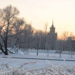 Парк Победы Рождство 4