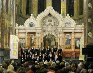 Камерный хор Смольного собора в Храме Спаса на Крови