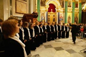 Камерный хор в Исаакиевском соборе