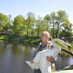 Лебеди Летнего сада Фото Калясиной Л.М