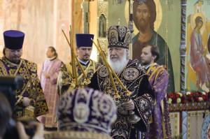 Монастырь Александра Свирского Визит ПАТРИАРХА